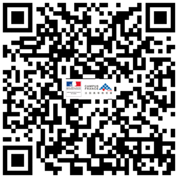 Scanner le QR code WeChat Campus France Chine
